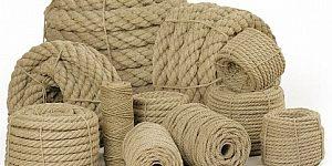 Konopné lano - prírodné